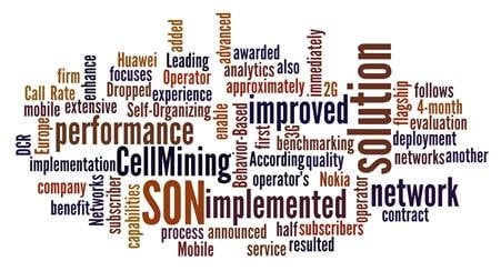 CellMining SON Solution Deployed By European MNO in Multi-Vendor 2G/3G Network Optimization