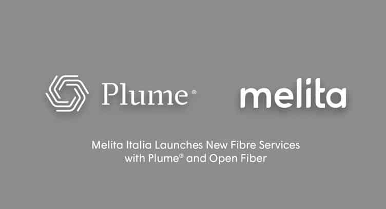 Melita Italia Launches New Fiber Service with Plume's Smart Home Services Bundle