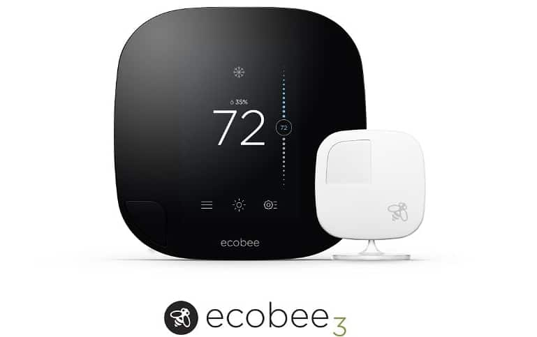 Wi-Fi enabled Smart Thermostat and Sensors from ecobee Deliver 23% Savings on Heating Costs