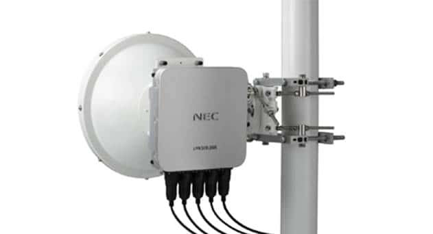 NEC Launches New Millimeter Wave Radio with 10Gbps Capacity