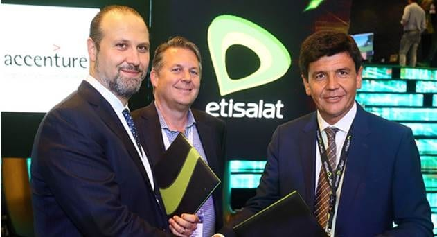Etisalat, Accenture Ink Partnership to Lead Digital Transformation to Support IoT, Big Data, AI, Connected Health