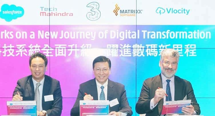 3 HK Partners Tech Mahindra, MATRIXX Software, Salesforce and Vlocity to Enable Digital Transformation