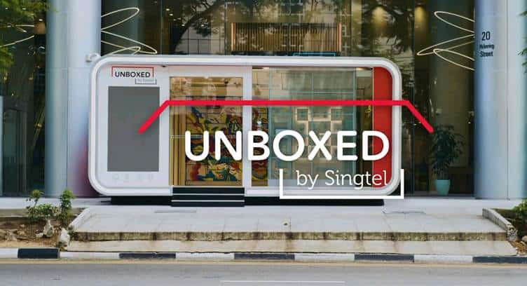 Singtel Unboxed - First 24-hour Unmanned Pop-up Telco Store in Singapope