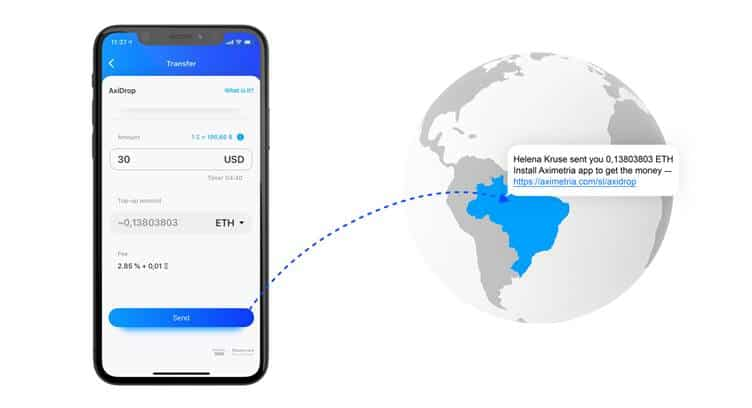 Aximetria Claims Instant Money Transactions in Crypto or Fiat to Anyone's Mobile Phone Number