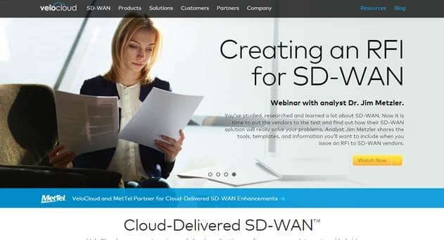 Telstra Partners VeloCloud for SD-WAN