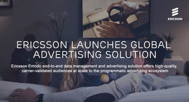 Ericsson Commercially Launches Mobile Ads Platform for Telcos