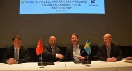 Turkcell, Ericsson Sign MOU on 5G R&D