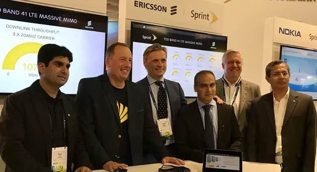 Sprint, Ericsson Complete Field Trial of 2.5 GHz Massive MIMO