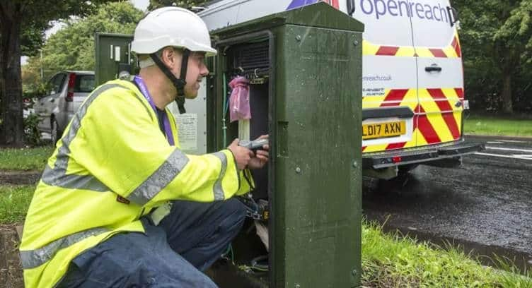Openreach to Roll Out Gfast Ultra Broadband to 1 million Homes and Businesses in UK
