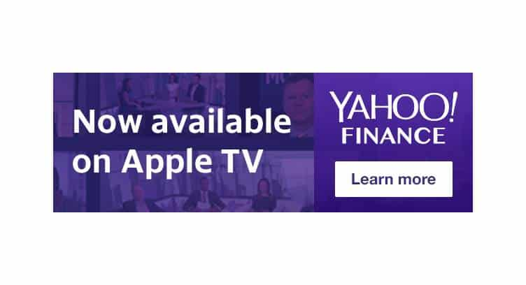Verizon's Yahoo Finance Launches Standalone Video App on Apple TV