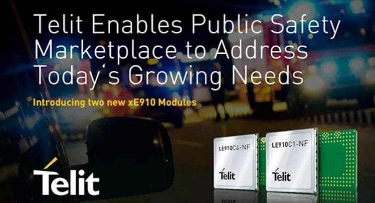 Telit Adds Two New IoT Modules to AT&T's FirstNet Lineup