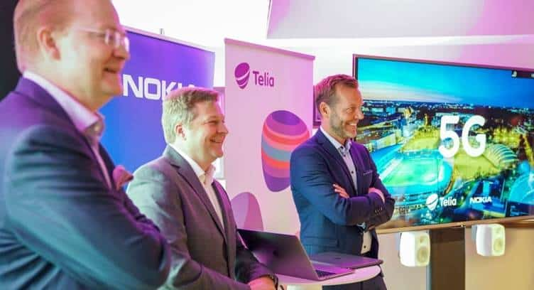 Telia Company Launches Pre-commercial 5G Network in Helsinki