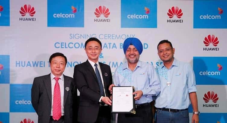 Malaysia's Celcom Selects Huawei's Cloud-based OSS Platform for Digitized Network Operations