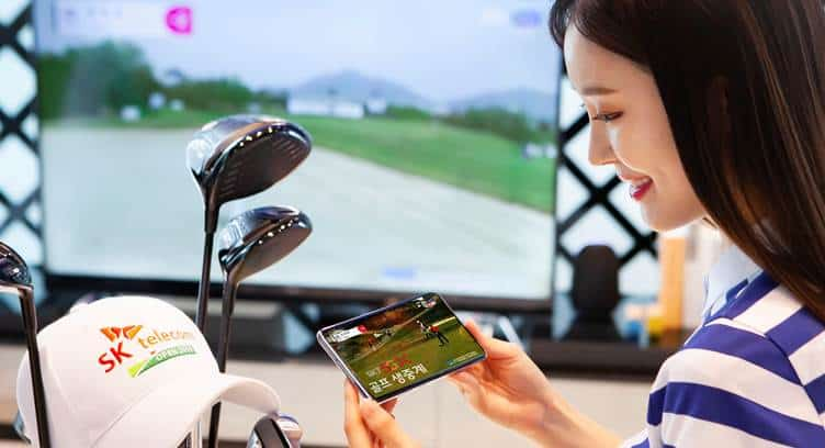 SK Telecom to Offer World's First Live TV  Sports Broadcasting Using 5G Network
