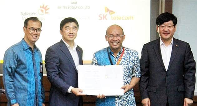 Telkom Indonesia, SK Telecom Partner on IoT, Smart City & Cloud Streaming